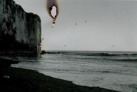 burned photo